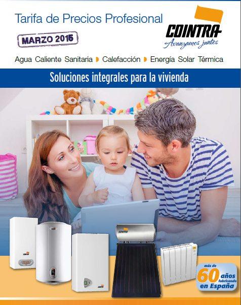 Tarifa Precios Cointra 2015