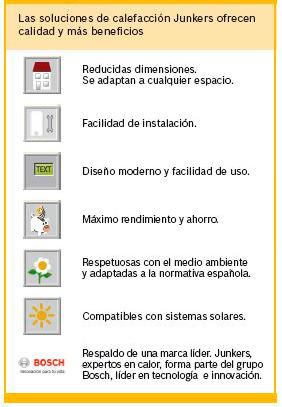 ventajas calderas de condensacion junkers