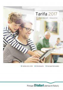 Tarifa Vaillant 2017